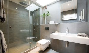Bathroom lighting design and installation in London, St Albans and Hertfordshire